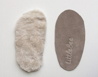 Extra insole / Baby moccasins, infant moccasins, toddler moccasins