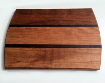Wood Cutting Board, Cherry Walnut Cutting Board
