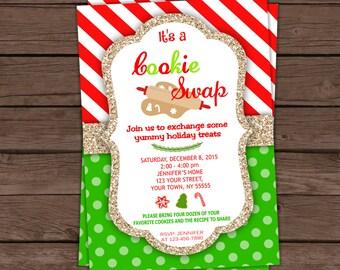 Cookie Swap Invitation / Cookie Excange / Digital File