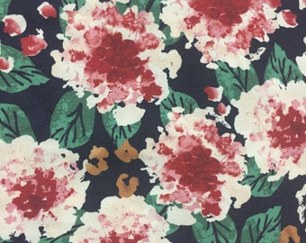 Floral Garden Rayon Crepe
