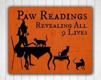 Halloween, Paw Readings, Halloween printable,