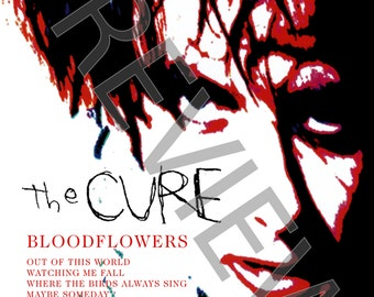 Tshirt - The Cure: Bloodflowers (2000)