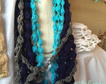 Yemoja/Olokun inspired chain necklace