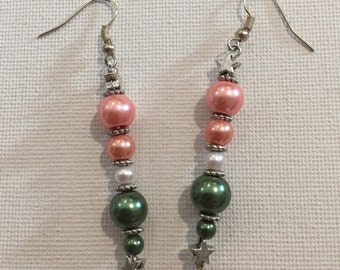 Pearl salmon & Green