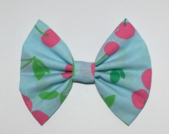 Cherry Hair Bow