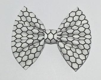 Hexagon Hair Bow