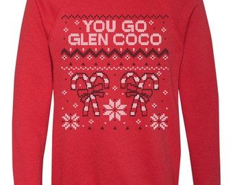 You Go Glen Coco Ugly Christmas Sweater Red Sweatshirt