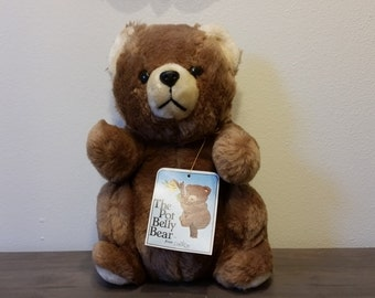 The Pot Belly Bear Stuffed Animal 1979 by Daekor