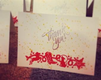 Western Thank You Card