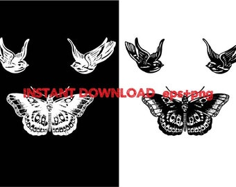 Harry Styles tattoo Clip Art,T shirt, iron on , sticker, Vectors files ,Personal Use