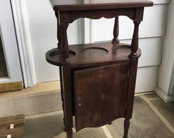 Antique/vintage smoking stand/table