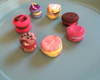 "French Macaroons for 18"" Dolls or Decor"