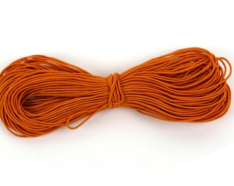 20m Orange Kandi Elastic String