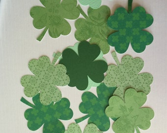 Shamrock Die-cut assortment