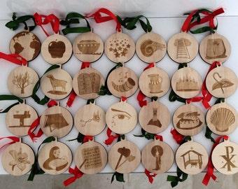 Jesse Tree Ornaments/Advent