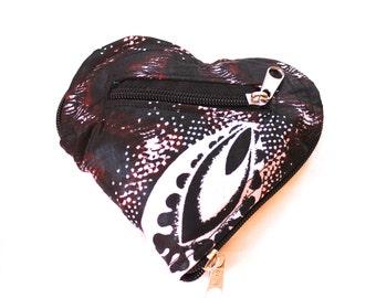 Foldable zip-up Tote bag