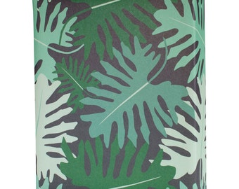 Big Tropical Leaves Wrapping Paper Sheet by Revel & Co. WS1115