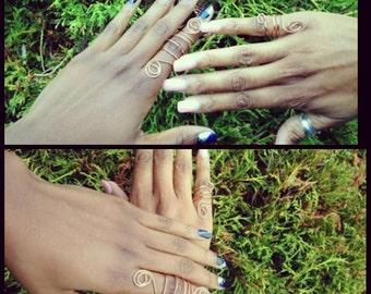 Copper Goddess Rings