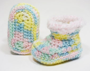 Newborn: Cotton Candy with Pink Rim