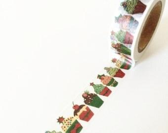 Cupcake print washi tape