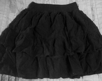 little black mini skirt