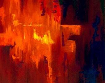 "Red Fire 11x14"" Lustre Print"