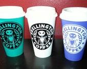 Skellington Coffee Mug - Plastic Reusable Travel Mug - Nightmare Before Christmas - Jack Skellington Coffee -Halloween