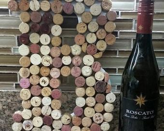 "13"" Wine Cork letters A-Z, Cork Letter, Wine Corks, Cork Letters, Cork Letters, Wine Cork Letters, Personalized Cork Letters"