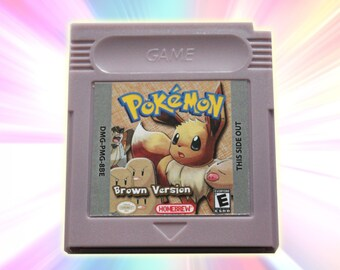 Pokemon Brown Version for Game Boy