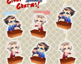 Ace Attorney / Gyakuten saiban charms.