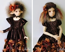 Ooak outfit for BJD MSD and SD dolls by Kaye Wiggs and similar size dolls