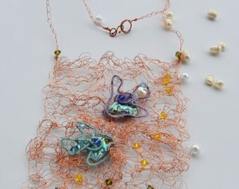"Necklace ""Network"""