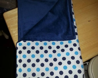Pokie Dots baby blanket