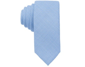 Blue Wool Ties.Blue Skinny Ties. Wedding Ties for Fall/Winter