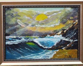 Sunlit Ocean