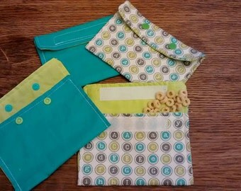 Re-usable Snack Bags.