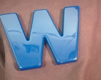 The Blue Letter 'W'