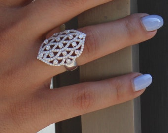 Ivy Ring Sterling Silver