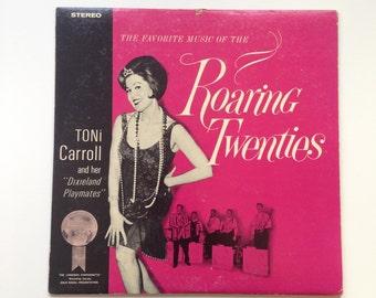 Vintage Album Art Roaring Twenties - Vinyl Record Sleeve, 1920s
