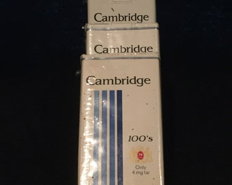 Cambridge 100's Collector Packs - Unopened - Sold 1 each