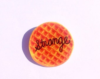 Eleven Eggo Waffle Pin