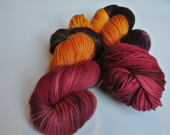 """Worsted Weight Yarn """"Scarecrow"""" 220 Yards"""