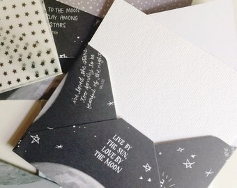 Moon & Stars Envelope Set