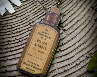 Apothecary Bottle Necklace