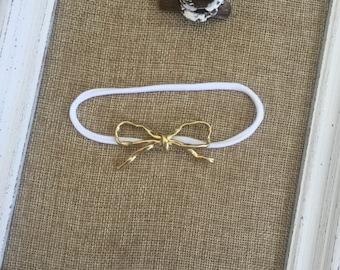 Tiny Gold bow