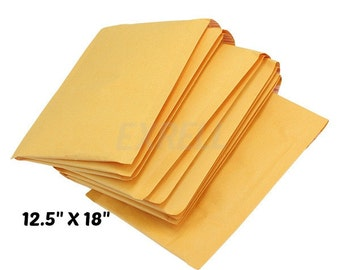 "Padded Envelope Bubble Mailers, size #6, 12.5"" x 18"", BULK WHOLESALE"