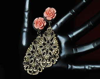 14mm rose of plugs with teardrop-shaped ornament
