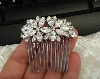 Hair Comb, Rhinestone Hair Comb, Bridal Hair Piece, Wedding Hair Accessories