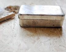 Vintage Syringe Sterilizer/Vintage Medical Supply/ Soviet Medical Container/Vintage Medical Box/USSR Collectible/Jewelry Box/ Soviet Rarity