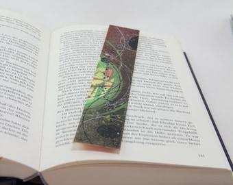 "Mini artwork bookmarks ""Yoikah belt"""